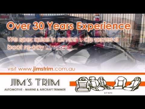 Jim's Trim Car Upholstery Adelaide