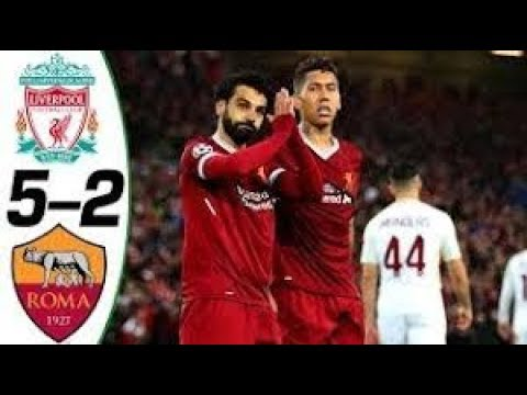 Liverpool vs Roma 5-2