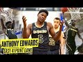 Anthony Edwards Is The NEW #1 Player In 2019!! EXPLODES for 41 Points!!
