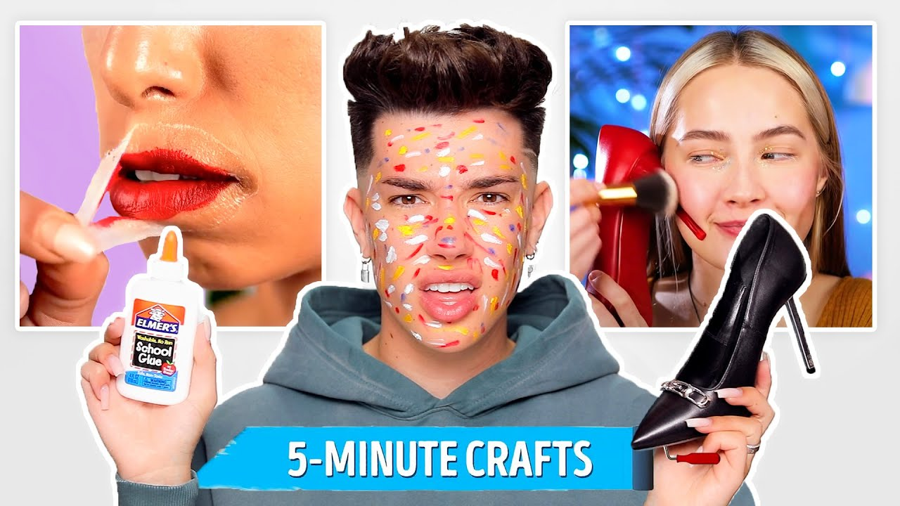 EXPOSING Ridiculous Viral 5 Minute Craft Makeup Hacks