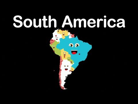South America Geography/South American Countries - YouTube