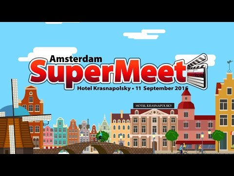 Network at the Amsterdam SuperMeet 11 September 2016!