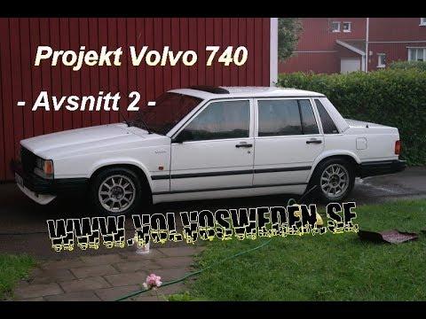 Projekt Volvo 740 Part 2 Montering vindavvisare, snowcap, ögonlock, takvinge, 960 handtagskåpor.