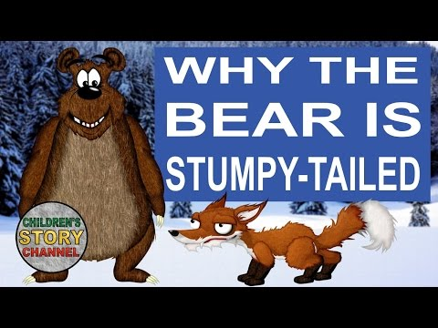 Why the Bear is Stumpy-Tailed | Norwegian Folktales