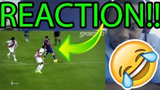 15 Players Destroyed By Ronaldinho & Messi!! REACTION!!