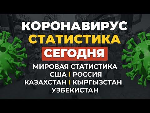 Коронавирус 2 мая  Статистика  Россия, Казахстан, Узбекистан, Кыргызстан сегодня