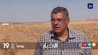 المزارعون في المناطق الحدودية بقطاع غزة يعانون من الوصول إلى اراضيهم - (24-10-2017)
