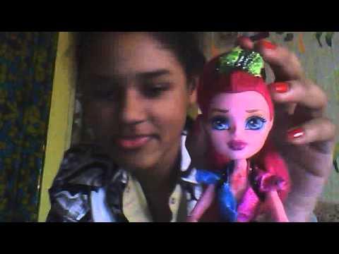 Видеообзор на куклу Monster High Джиджи Грант!