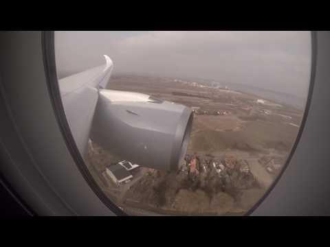 Airbus A350 Lowpass at Finkenwerder and Citytour over Hamburg