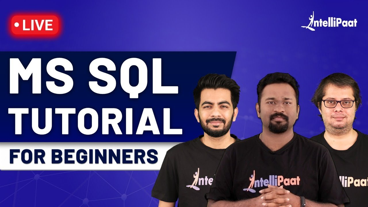 SQL Tutorial For Beginners | SQL Full Course | SQL for Beginners | Intellipaat