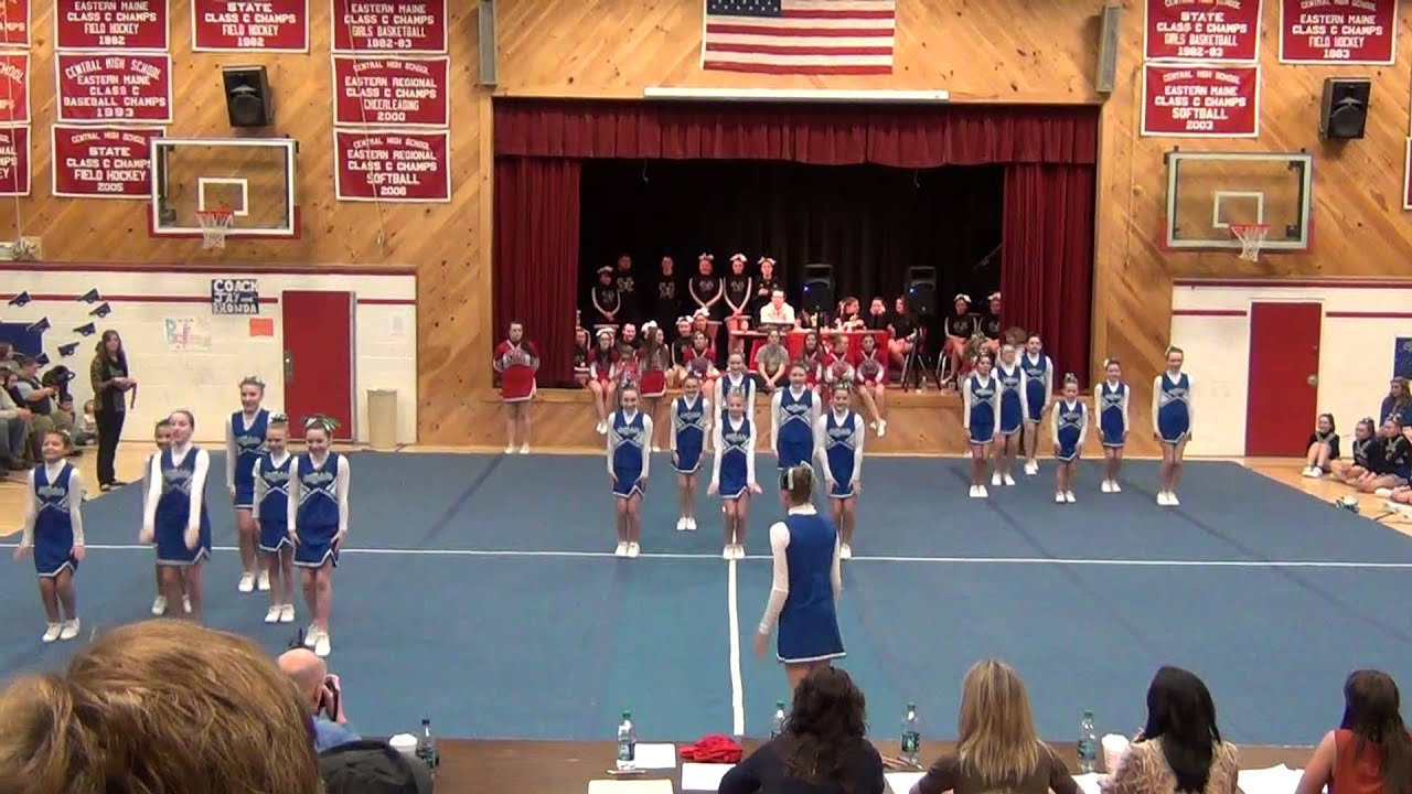 All Saints Catholic School Cheering 2013 Youtube