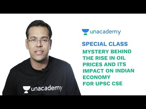 Special Class - Mystery behind the rise in Oil Prices   Impact on Indian Economy - Ayussh Sanghi