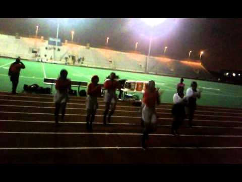 Al Raby Cheerleaders Homecominq Game 2013
