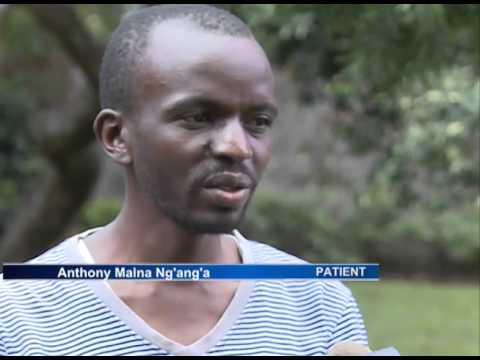 Anthony Maina appeals for medical assistance for an urgent liver transplant