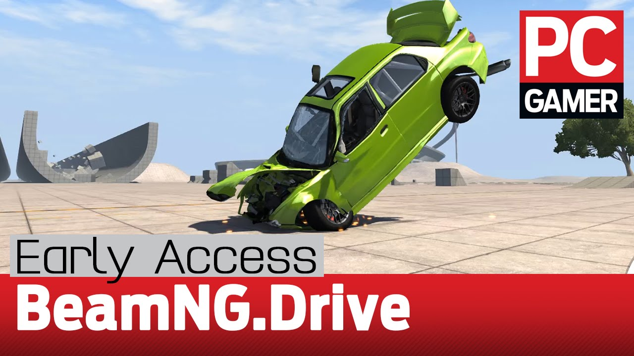 beamng drive gameplay early access impressions youtube. Black Bedroom Furniture Sets. Home Design Ideas