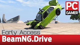 BeamNG.Drive gameplay — Early Access impressions