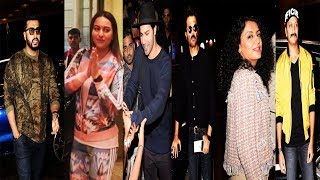 Bollywood celebs leaving for IIFA at international airport in mumbai   Bollywood Events