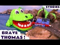 Thomas and Friends Brave Tomas Episodes Toy Stories with Surprise Eggs & Minions Toys ToyTrains4u Mp3