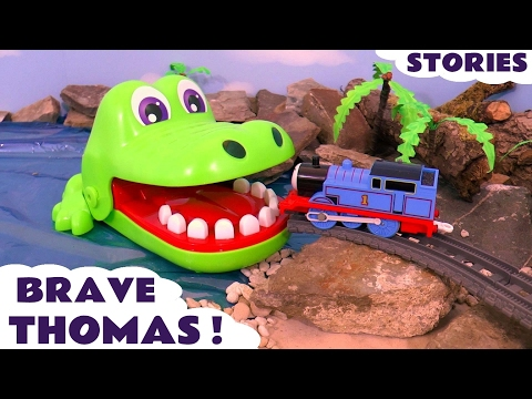 Thomas and Friends Brave Tomas Episodes Toy Stories with Surprise Eggs & Minions Toys ToyTrains4u