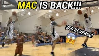 Mac McClung Is BACK! Throws Down INSANE Double Pump Reverse In Summer Pro AM 😤