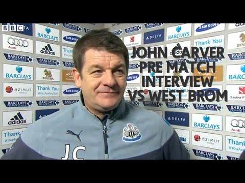 Carver Pre Match Interview vs West Brom