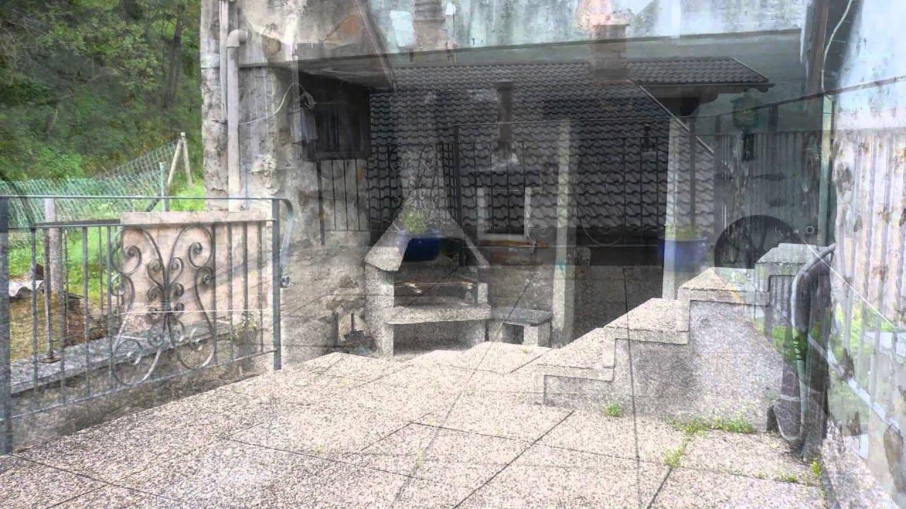 vendesi Casa rustica con 3 terrazze portico con camino e giardino Isone Ticino Svizzera  YouTube
