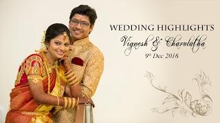 Studio Art Presents Wedding Highlights Of Vignesh & Charulatha