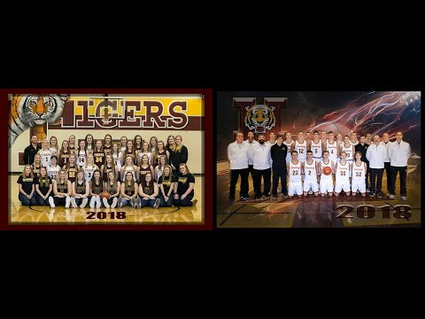 Harrisburg Girls/Boys Double Header Basketball vs Yankton 2018
