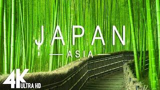 JAPAN (4K UHD)  Música relajante junto con hermosos videos de la naturaleza  Video 4K Ultra HD