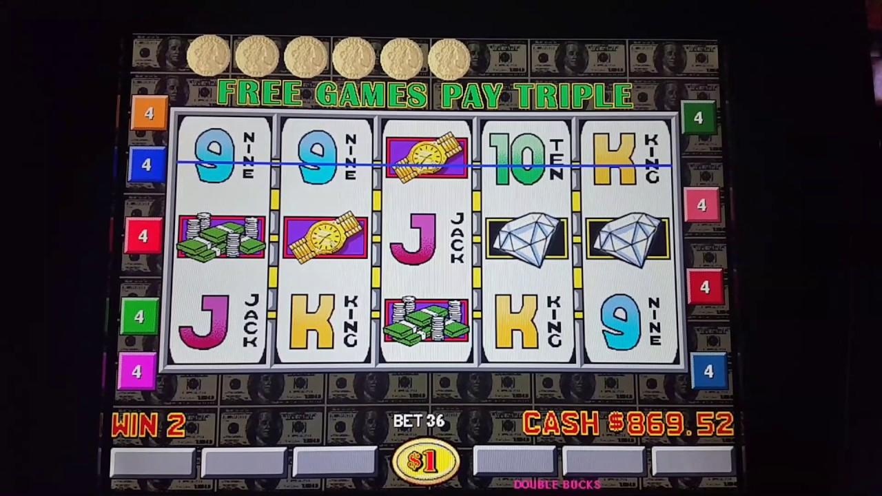 Play Double Bucks Slot Machine