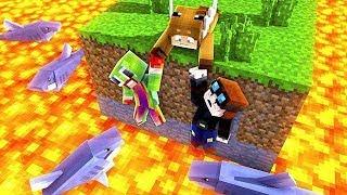 Minecraft Horror - SAVE UNSPEAKABLEGAMING, DANTDM, & YOUTUBERS!