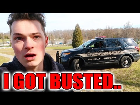 THE POLICE CHASED ME DOWN FOR THIS!