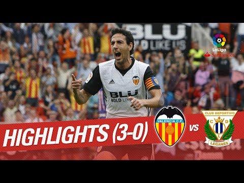Highlights Valencia CF vs CD Leganés (3-0)