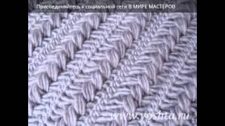 Вязание на вилке своими руками