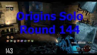Origins Solo Round 144 World Record