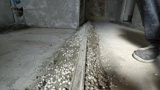 як зробити маяки для заливки підлоги