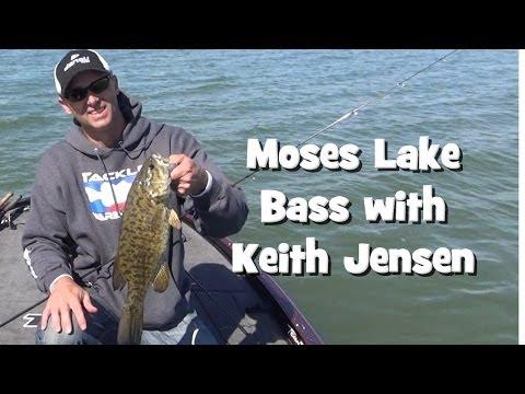 Moses Lake Bass Fishing with Keith Jensen