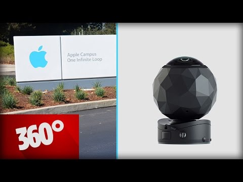 Test-Video: 360fly-Kamera: Apple Campus in Cupertino
