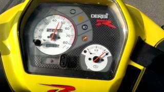 Derbi Vamos R acceleration 0-60+km/h
