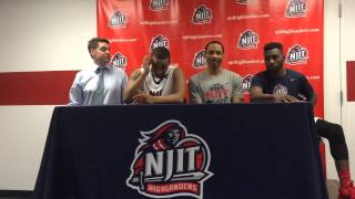 NJIT MBB Post Game vs Cleveland State