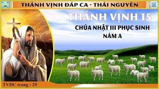 Thánh Vịnh 15 Thái Nguyên - Chúa Nhật III Phục Sinh - Năm A