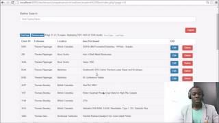 Excel to MySQL Web App  PHP | PDO| MySQL |AJAX |Bootstrap