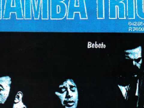 Tamba Trio 1968 raro  Ohanna na bateria  =  O morro não tem vez