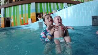 1⃣Груднички 1раз ныряют🎉 Уроки плавания🏊Аквапарк Атолл🌊Кстово✌Нижний Новгород😍Как начать плавать