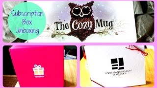 Subscription Box Unboxings | The Cozy Mug, Starbox, Memebox