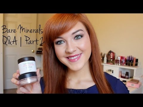 Bare Minerals Q&A 2 (Skincare, Shade Matching, Blushes etc.)
