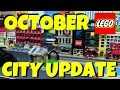 OCTOBER LEGO CITY UPDATE