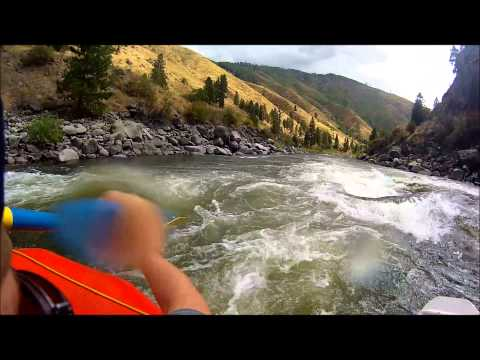 Whitewater Rafting Down The Payette River In Idaho