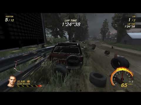 flatout 3 : race 6 with my car of blaster
