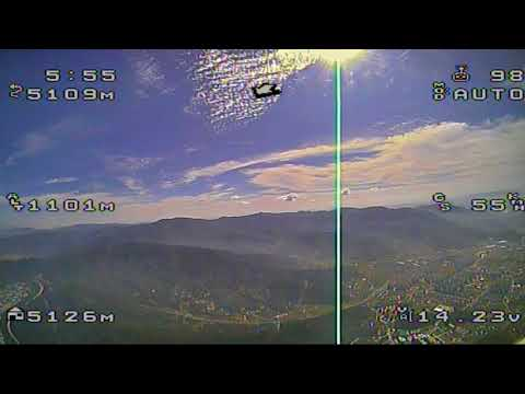 Long distance FPV flying of Clouds